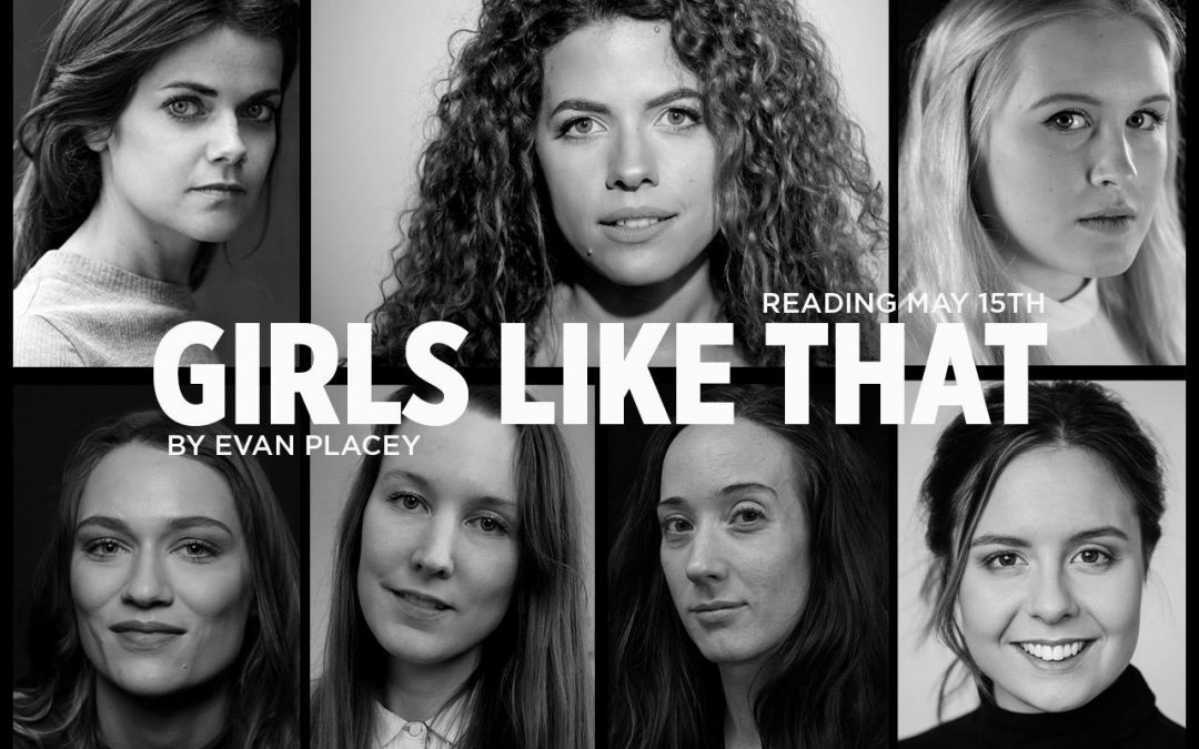 (2018) Kim is doing a reading of Girls Like That at Playhouse Teater.